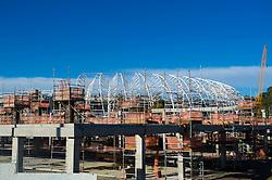 Foto das reformas do Beira Rio (Estádio José Pinheiro Borda) feita em 03 de junho de 2013. O est‡ádio Beira Rio vai receber‡ os jogos da Copa do Mundo de Futebol 2014. FOTO: Vinícius Costa/ Preview.com