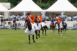 Team Netherlands: Van Der Vleuten Eric (NED), Van Der Vleuten Maikel (NED), Raymakers Piet Jr (NED), Vrieling Jur (NED)<br /> FEI Nations Cup Sankt Gallen 2011<br /> © Hippo Foto - Beatrice Scudo
