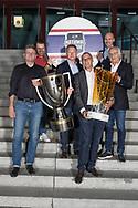 Der Verwaltungsrat der SC Rapperswil-Jona Lakers am 27. April 2018 nach der erfolgreichen Saison als Cupsieger, Swiss League Meister und Aufsteiger in die National League, bei der St. Galler Kantonalbank Arena. (Thomas Oswald)