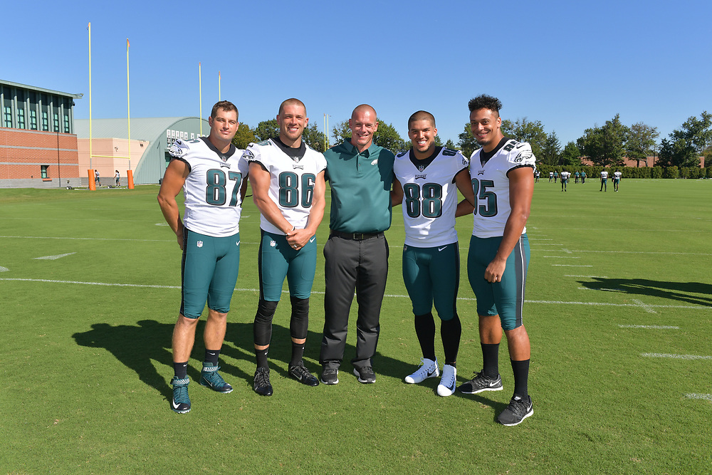 The Philadelphia Eagles 2017 Team Photograph and position group portraits at NovaCare Complex on September 23, 2017 in Philadelphia, Pennsylvania. (Photo by Drew Hallowell/Philadelphia Eagles)