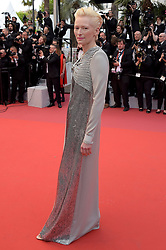 Tilda Swinton attending the opening ceremony and premiere of The Dead Don't Die, during the 72nd Cannes Film Festival.