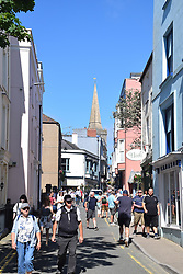 Tenby, Pembrokeshire South Wales July 2021