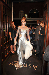 TARA PALMER-TOMKINSON at a party to celebrate the publication of Inheritance by Tara Palmer-Tomkinson at Asprey, 167 New Bond Street, London on 28th September 2010.