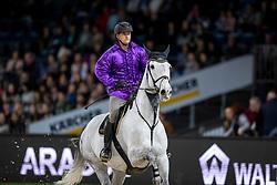 Cox Karel, BEL, Chalino Z<br /> Stuttgart - German Masters 2018<br /> © Hippo Foto - Stefan Lafrentz