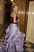 Xenia Gorbachev. Crillon Debutantes Ball 2002. Paris. 7 December 2002. © Copyright Photograph by Dafydd Jones 66 Stockwell Park Rd. London SW9 0DA Tel 020 7733 0108 www.dafjones.com