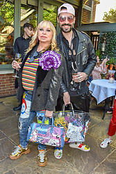 Louise Mazzilli and Rocky Mazzilli at The Ivy Chelsea Garden Summer Party ,The Ivy Chelsea Garden, King's Road, London, England. 14 May 2019. <br /> <br /> ***For fees please contact us prior to publication***