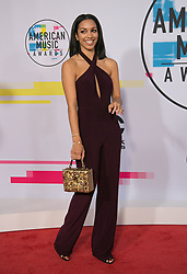 November 19, 2017 - Los Angeles, California, U.S - Corinne Foxx on the Red Carpet of the 2017 American Music Awards held on Sunday, November 19, 2017 at the Microsoft Theatre in Los Angeles, California. (Credit Image: © Prensa Internacional via ZUMA Wire)