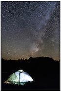 Coyote Buttes, AZ 11/6/2015<br /> The Milky Way sets over South Coyote Buttes<br /> Alex Jones / www.alexjonesphoto.com