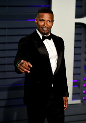 Jamie Foxx attending the Vanity Fair Oscar Party held at the Wallis Annenberg Center for the Performing Arts in Beverly Hills, Los Angeles, California, USA.