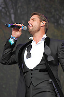 Keith Duffy, BST Hyde Park, London UK, 13 July 2014, Photo by Brett D. Cove