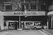 Soho Hotel, London Soho  district during the Pandemic of Coronavirus April 23.  2020.<br /> Copyright Ki Price
