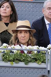 May 14, 2018 - Madrid, Spain - Elena de Borbón during day 9 of the Mutua Madrid Open tennis tournament at the Caja Magica in Madrid, Spain. on May 12, 2018 in Madrid, Spain  (Credit Image: © Oscar Gonzalez/NurPhoto via ZUMA Press)