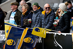 Worcester Warriors fans at Newcastle Falcons - Mandatory by-line: Robbie Stephenson/JMP - 03/03/2019 - RUGBY - Kingston Park - Newcastle upon Tyne, England - Newcastle Falcons v Worcester Warriors - Gallagher Premiership Rugby