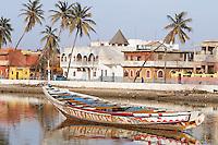Senegal, Saint Louis du senegal, Patrimoine mondial de l UNESCO. Fleuve Senegal. // Senegal, city of Saint Louis, Unesco World Heritage. Senegal river.