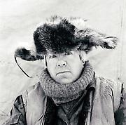 Portrait of a fisherman, Lake Baikal, Siberia, Russia