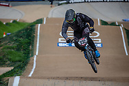 #232 (KRASEVSKIS Matt) AUS at Round 2 of the 2020 UCI BMX Supercross World Cup in Shepparton, Australia.
