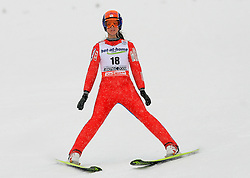 Coline Mattel of France at Ski Jumping ladies Normal Hill Individual of FIS Nordic World Ski Championships Liberec 2008, on February 20, 2009, in Jested, Liberec, Czech Republic. (Photo by Vid Ponikvar / Sportida)
