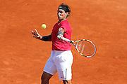 Roland Garros. Paris, France. May 29th 2012.Spanish player Rafael NADAL against Simone BOLELLI.