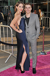 """(L-R) Alison Brie and Dave Franco arrives together at Netflix's """"Glow"""" Los Angeles Premiere held at the Arclight Cinerama Dome in Los Angeles, CA on Wednesday, June 21, 2017.  (Photo By Sthanlee B. Mirador) *** Please Use Credit from Credit Field ***"""
