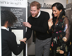 Prince Harry and Meghan Markle visit Bristol Old Vic and meet the public in Bristol, UK, on the 1st February 2019. Picture by Marc Giddings/WPA-Pool. 01 Feb 2019 Pictured: Prince Harry, Duke of Sussex, Meghan Markle, Duchess of Sussex. Photo credit: MEGA TheMegaAgency.com +1 888 505 6342