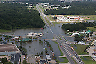 Flooding in Baton Rouge, part of a 1000-year flood that hit Southern Louisiana in August 2016.