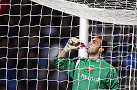 Photo: Paul Thomas.<br /> Manchester City v Watford. The Barclays Premiership. 04/12/2006.<br /> <br /> Keeper Richard Lee of Watford has a drink after a busy night keeping out Man City's goal shots.