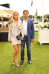 MARISSA MONTGOMERY and JAMIE REUBEN at the Cartier International Polo at Guards Polo Club, Windsor Great Park, Berkshire on 25th July 2010.