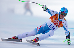 16-02-2014 SKIEN: OLYMPIC GAMES SCHANSSPRINGEN: SOTSJI<br /> Bode Miller of the USA in action during the mens Super G to the Olympic Winter Games Sochi 2014 <br /> ***ONLY NETHERLANDS***<br /> ©2014-FotoHoogendoorn.nl