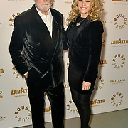 Roger Taylor,Sarina Potgieter attend Biennial fundraiser in aid of The Roundhouse Trust which helps 3000  11-25 year-olds from all backgrounds to realise their creative potential through opportunities in music, media and performing arts on 14 March 2019 at Roundhouse Gala, London, UK.