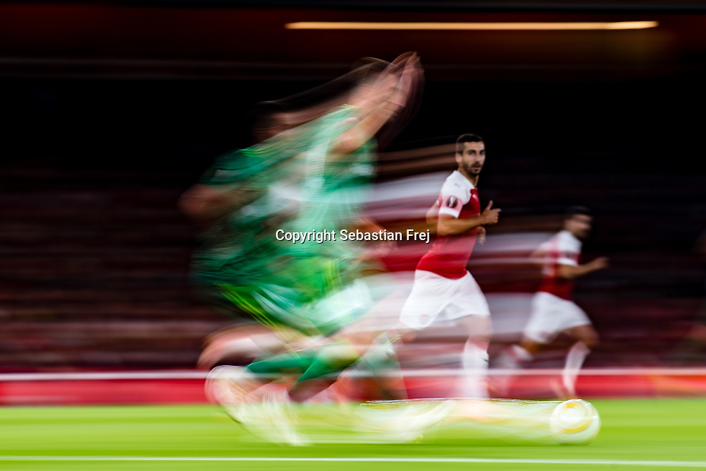London, Great Britain - September 20:   during the Group E match of the UEFA Europe League between Arsenal  and FC Vorskla Poltava at Emirates Stadium on September 20, 2018 in London, GB. (Photo by Sebastian Frej)