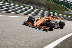 November 10, 2017 - Sao Paulo, Sao Paulo, Brazil - Nov, 2017 - Sao Paulo, Sao Paulo, Brazil - STOFFEL VANDOORNE/McLaren Honda. Free practice this Friday (10), for the Brazilian Grand Prix of Formula One that takes place next Sunday at the Autodromo de Interlagos in São Paulo. (Credit Image: © Marcelo Chello via ZUMA Wire)