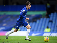 Football - 2020 / 2021 Premier League - Chelsea vs Burnley - Stamford Bridge<br /> <br /> Chelsea's Mason Mount in action during this afternoon's game.<br /> <br /> COLORSPORT/ASHLEY WESTERN