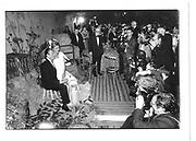 Bara Thyssen and wife at his wedding Ball 1987 approx© Copyright Photograph by Dafydd Jones 66 Stockwell Park Rd. London SW9 0DA Tel 020 7733 0108 www.dafjones.com