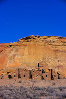Pueblo Bonito, Chaco Culture National Historical Park, New Mexico USA.
