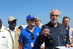 """This situation is truly alarming"". EU Commissioner CHRISTOS STYLIANIDES announces €78 million in humanitarian aid to South Sudan after visit to Uganda. During the trip, the Commissioner went to BidiBidi settlement in Northern Uganda, now the third largest refugee settlement in the world. It currently holds more than 210,000 South Sudanese refugees escaping from war, and the ongoing influx of a daily average of 3,000 refugees is causing a strain on humanitarian aid and funding."