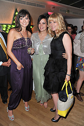 Left to right, SARAH OWEN, LILY ALLEN and EDITH BOWMAN at a party to celebrate the launch of the Lucy in Disguise Ready to Wear collection exclusive to Harvey Nichols, held at The Fifth Floor Restaurant, Harvey Nichols, Knightsbridge, London on 25th May 2011.
