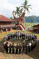 Indonesie. Sulawesi (Celebes). Pays Toraja, Tana Toraja. Ceremonie funeraire. // Indonesia. Sulawesi (Celebes Island). Tana Toraja. Toraja funeral ceremony.