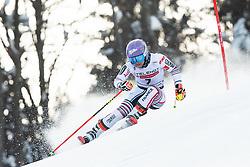 Tessa Worley (FRA) during the Ladies' Giant Slalom at 57th Golden Fox event at Audi FIS Ski World Cup 2020/21, on January 17, 2021 in Podkoren, Kranjska Gora, Slovenia. Photo by Vid Ponikvar / Sportida