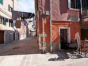 FREESPACE - 16th Venice Architecture Biennale. Gondola restaurant.
