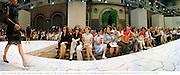 Patricia Atschul, Deda  Blair, Cathy Graham. Emanuel Ungaro, couture. 20/7/98. Ecolole des Beaux  Arts, rue Bonaparte. Paris. © Copyright Photograph by Dafydd Jones 66 Stockwell Park Rd. London SW9 0DA Tel 0171 733 0108