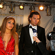 NLD/Eemnes/20080522 - Finale RTL programma de Gouden Kooi, Brian Kubatz en partner Amanda Balk