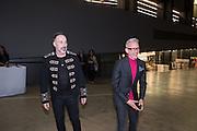 DAVID FURNISH; PATRICK COX, New Tate Modern opening party, Bankside. London. 16 June 2016