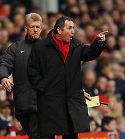 GERRARD HOULLIER MANAGER LIVERPOOL UNHAPPY WITH REFEREE R STYLES<br /> LIVERPOOL V WOLVERHAMPTON WANDERERS 20/03/04 PREMIER LEAGUE<br /> PHOTO DAVID HARROLD FOTOSPORTS INTERNATIONAL