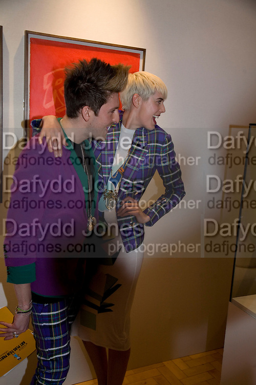 HENRY HOLLAND AND AGYNESS DEYNE , TODÍS Art Plus Film Party 2008. Party to raise funds for the Whitechapel art Gallery.  One Marylebone Road, London NW1, 6 March, 8.30 - late<br /> *** Local Caption *** -DO NOT ARCHIVE-© Copyright Photograph by Dafydd Jones. 248 Clapham Rd. London SW9 0PZ. Tel 0207 820 0771. www.dafjones.com.