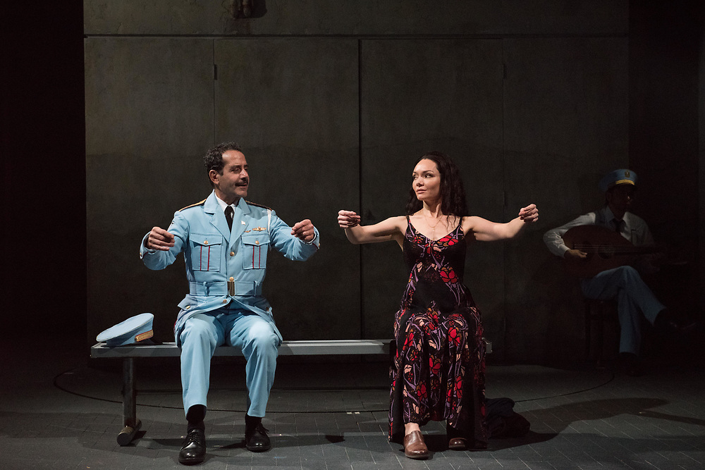 Tony Shalhoub & Katrina Lenk: The Band's Visit - Behind the scenes and Production photos from the original Atlantic Theater Company Off Broadway production
