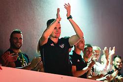 Luka Bobičanec of Mura during reception of NS Mura players after winning Slovenian cup, on June 25, 2020 in Fazanerija, Murska Sobota, Slovenia. Photo by Blaž Weindorfer / Sportida