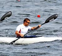Kajakk<br /> EM 2005 <br /> Poznan 30.07.2005<br /> Foto: Wrofoto/Digitalsport<br /> NORWAY ONLY<br /> <br /> K4 1000 MEN <br /> NILS OLAV FJELDHEIM