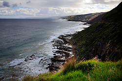 AUSTRALIA VICTORIA LORNE 8FEB08 - View from Cape Patton Lookout over the Victoria Coast along the Great Ocean Road, Victoria, Australia...jre/Photo by Jiri Rezac..© Jiri Rezac 2008..Contact: +44 (0) 7050 110 417.Mobile:  +44 (0) 7801 337 683.Office:  +44 (0) 20 8968 9635..Email:   jiri@jirirezac.com.Web:    www.jirirezac.com..© All images Jiri Rezac 2007 - All rights reserved.