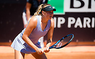 Amanda Anisimova of the United States in action during the first round of the 2021 Internazionali BNL d'Italia, WTA 1000 tennis tournament on May 10, 2021 at Foro Italico in Rome, Italy - Photo Rob Prange / Spain ProSportsImages / DPPI / ProSportsImages / DPPI