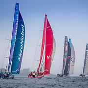 © Maria Muina I MAPFRE. In port race Newport. Regata costera en Newport.